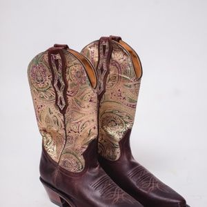 Authentic fancy cowboy boots